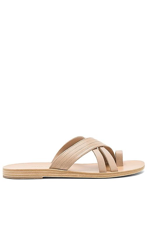 Valia Gabriel Pink Sands Sandal in Beige
