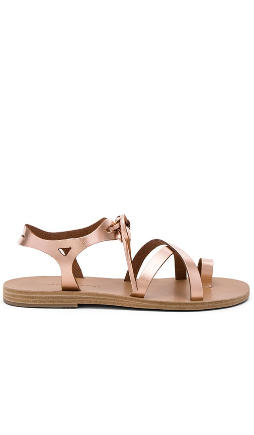 Valia Gabriel Grace Sandal in Metallic Copper