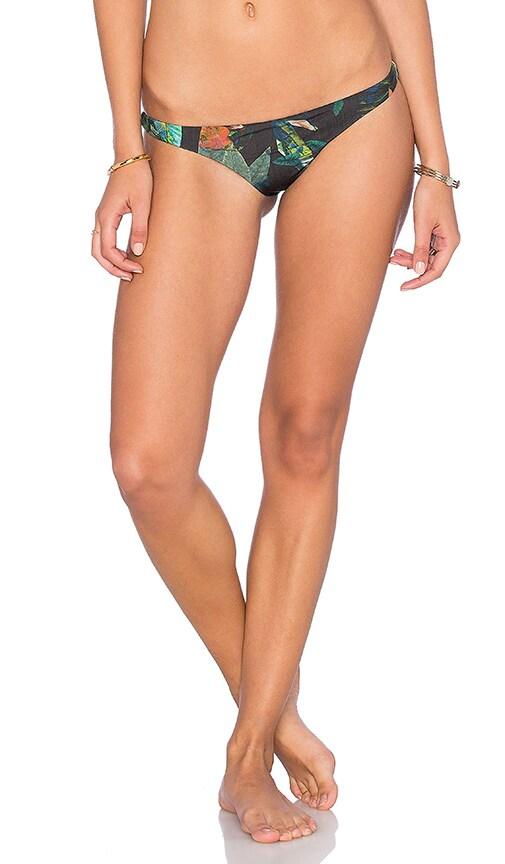 vitamin A Samba Bikini Bottom in Black