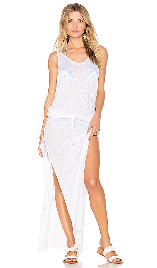 vitamin A Island Maxi Dress in White