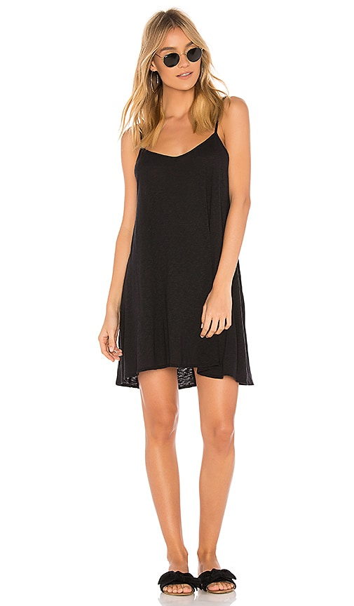 vitamin A Paloma Dress in Black
