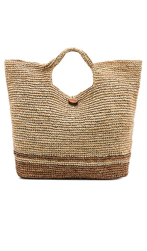 vitamin A Tash Tote in Tan
