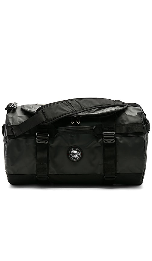 87545d73fe Vans x The North Face Base Camp Duffel in TNF Black & TNF Black ...