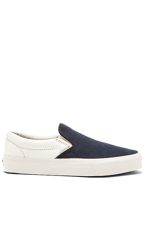 a62cd120fe Vans California Classic Slip On Scotchgard in Blue Graphite