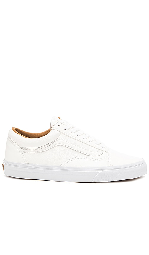 beige vans sneakers old skool premium