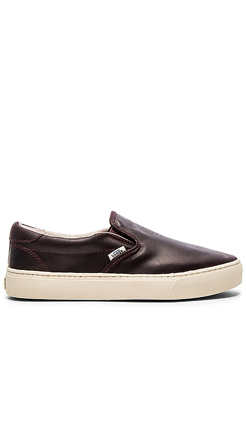209f95150d Vans California Slip On Cup in Bitter Chocolate Turtledove