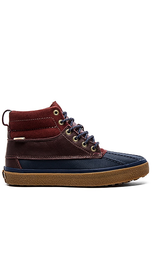 29be9435e4 Vans California SK8 Hi Del Pato MTE in Navy Bitter Chocolate