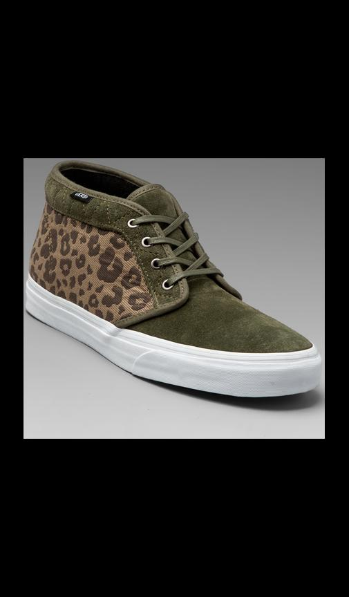 California Chukka Boot Leopard Camo