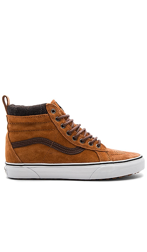 c1829838b0 Vans SK8 Hi MTE in Glazed Ginger   Plaid