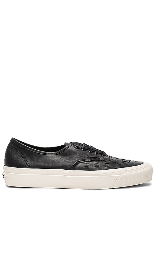 5bdc254125 Vans Authentic Weave DX in Black