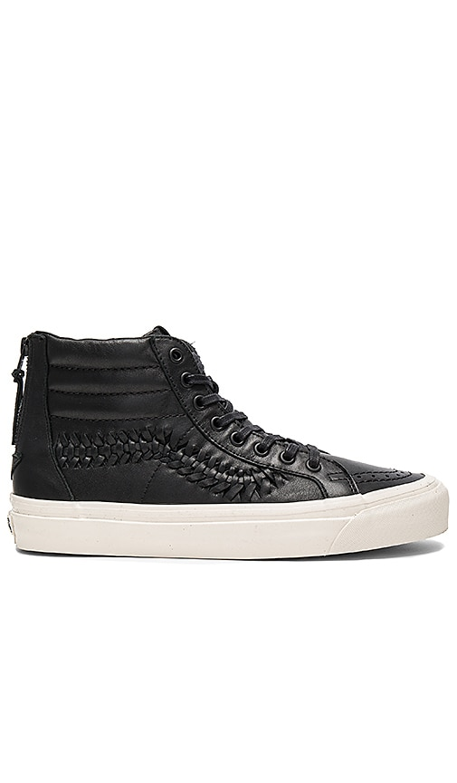 05bfdf2f34e7 Vans SK8 Hi Zip Weave DX in Black