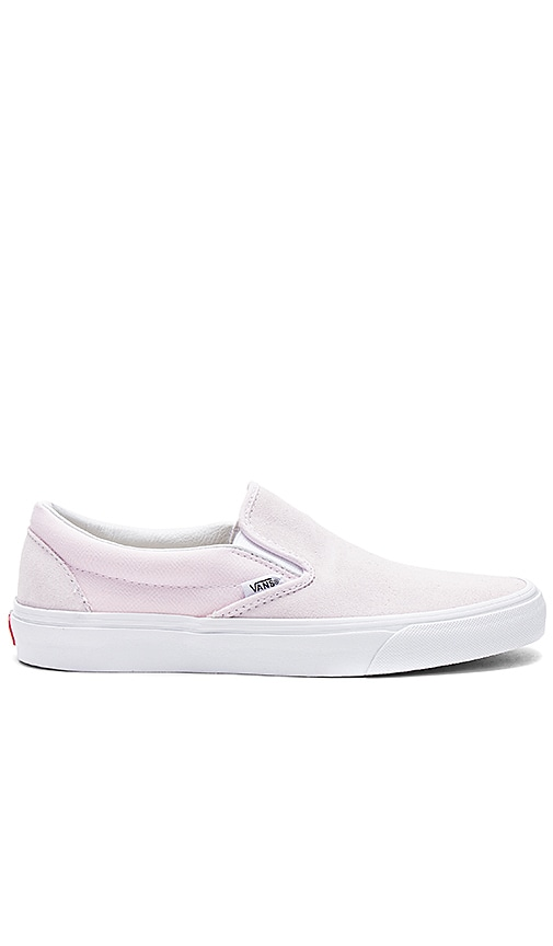6c2eedb1d3 Vans Pastel Classic Slip On in Orchid Ice   True White