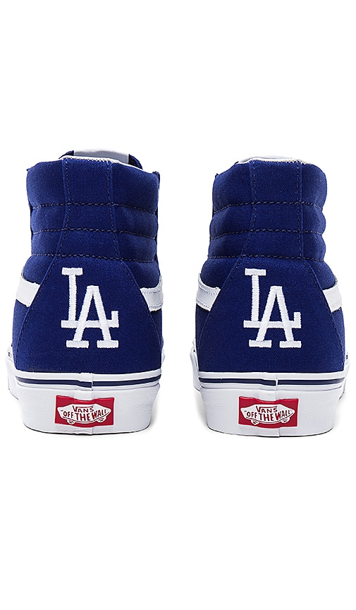 8f8c9e010e Vans SK8 Hi LA Dodgers in Los Angeles Dodgers Blue