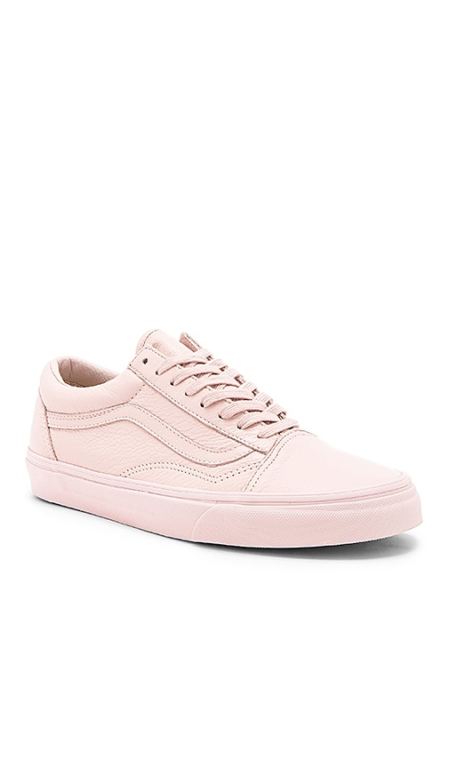vans old skool rose suede