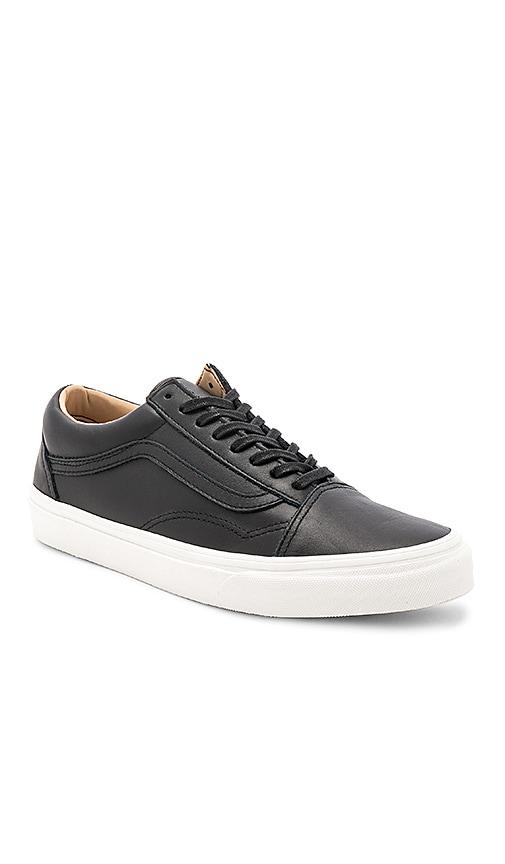 Vans Old Skool Lux Leather in Black