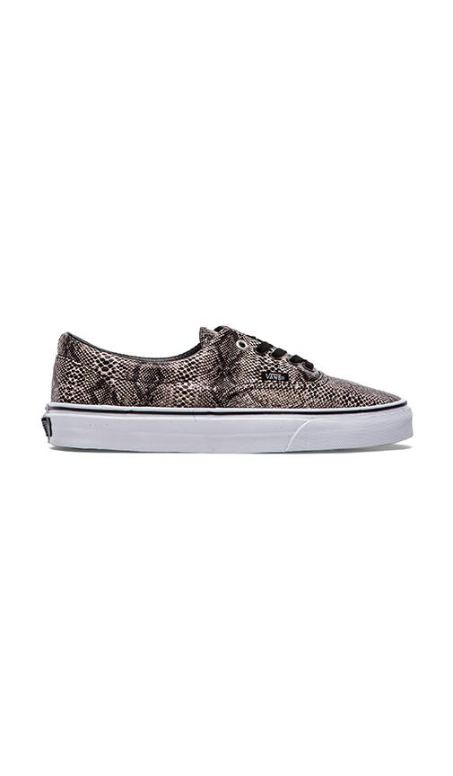 b945ba777a Vans Era Snake in Black   Khaki