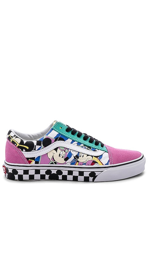 a0e3bdf682eeaa Vans x Disney Old Skool in 80's Mickey & True White | REVOLVE