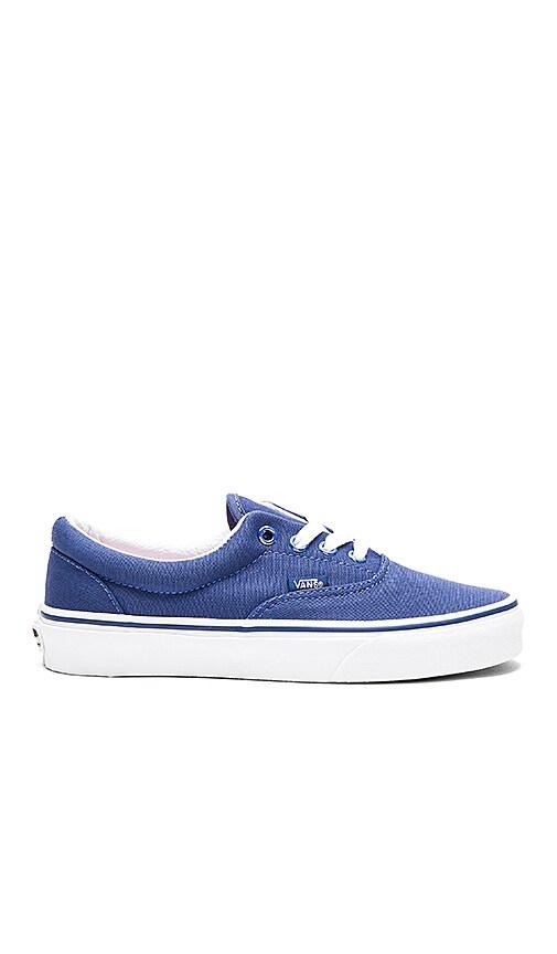 2960a69d37b8 Vans Shiny Eyelets Era Sneaker in Twilight Blue | REVOLVE