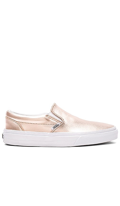 vans metallic rose