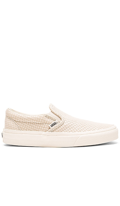 Snake Leather Classic Slip-On +