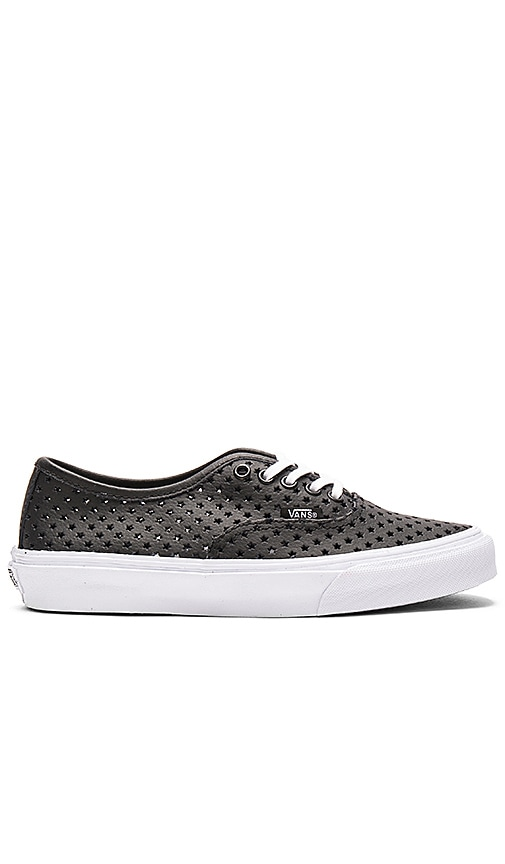 Vans Perf Stars Authentic Slim Sneaker in Black