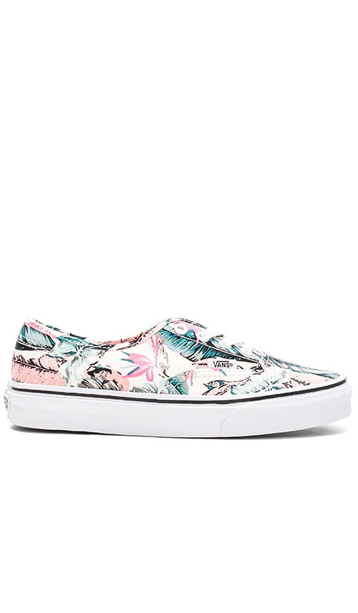Vans Tropical Authentic Sneaker in Pink