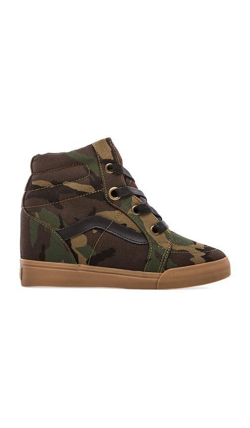 Sk8-Hi Wedge Sneaker