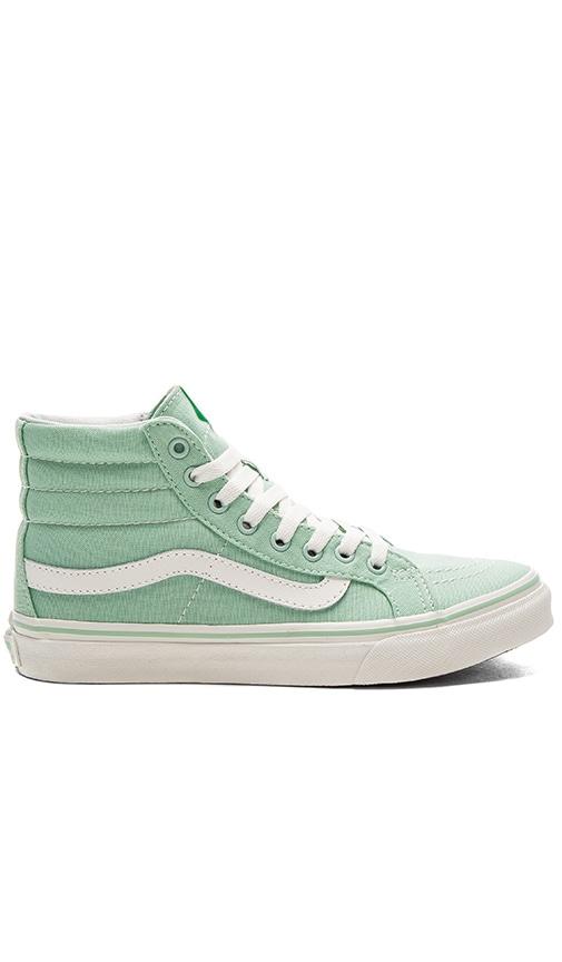 Vans Sk8-Hi Slim Sneaker in Mint
