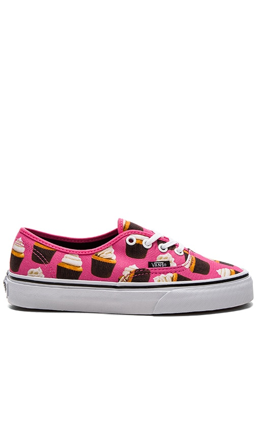Vans Late Night Authentic Sneaker in Pink