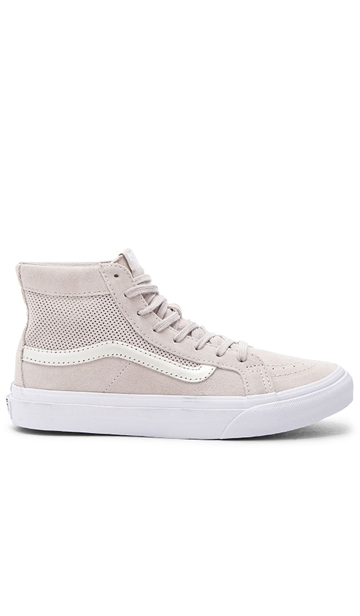 Vans SK8-Hi Slim Cutout Sneaker in Gray