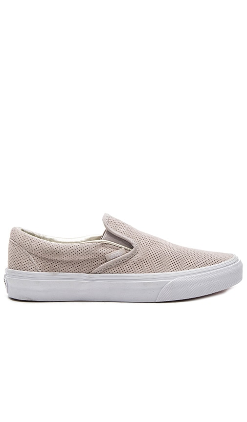 Vans Classic Slip-on Sneaker in Gray