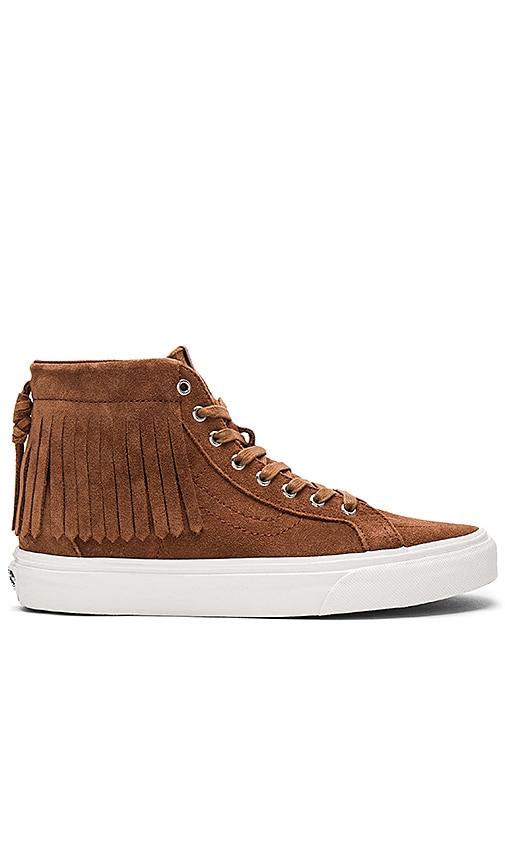 Vans SK8-HI Moc Sneaker in Brown
