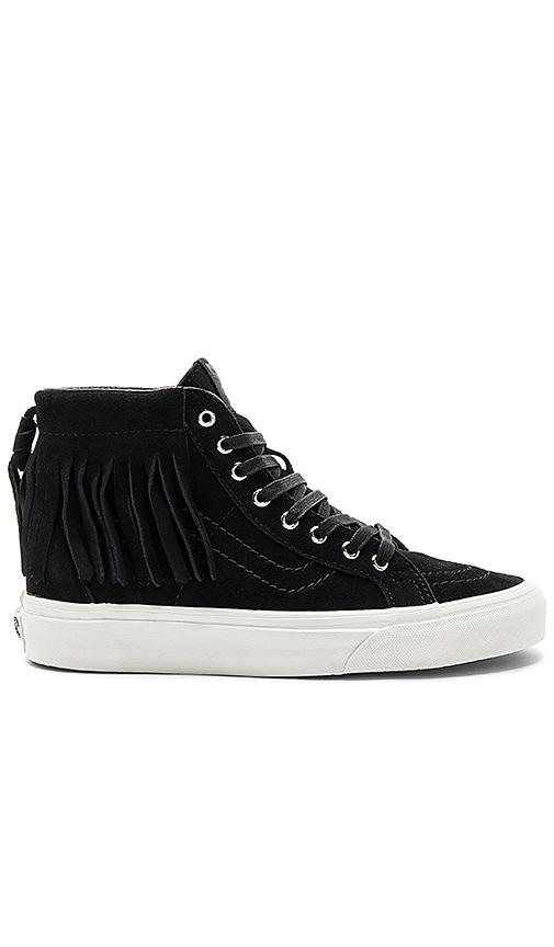 Vans SK8-Hi Moc Sneaker in Black