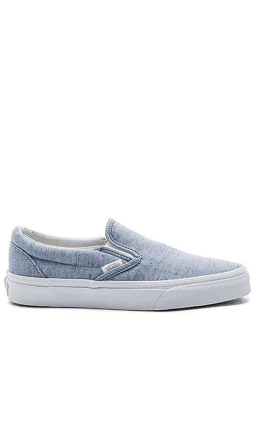 Vans Classic Slip-On Sneaker in Blue
