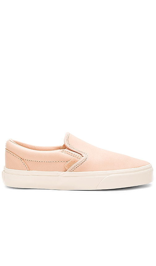 Vans Classic Slip On DX Sneaker in Beige