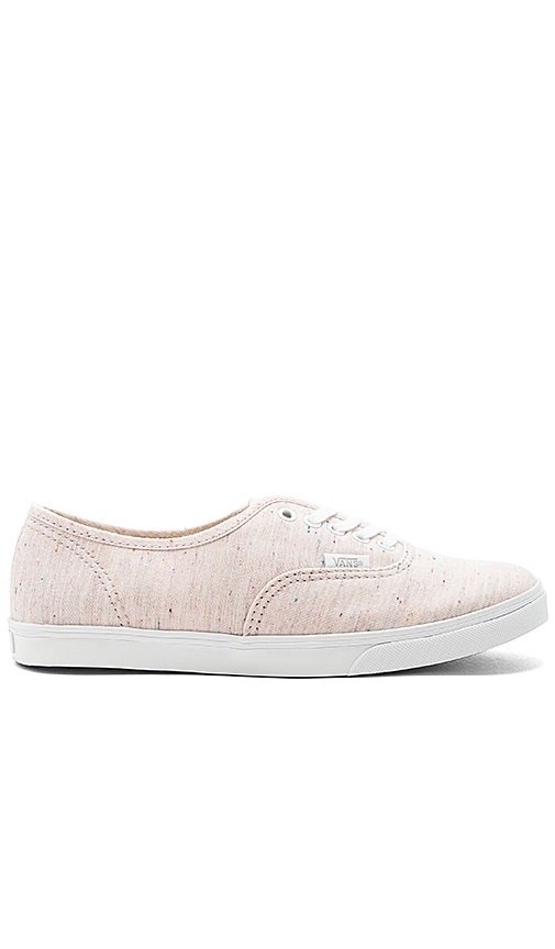 Vans Authentic Lo Pro Sneaker in Pink