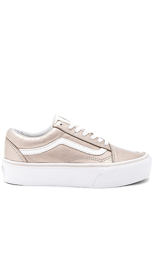 zapatillas old skool vans plataform