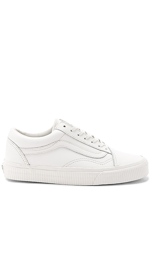 Vans Old Skool Sneaker in White