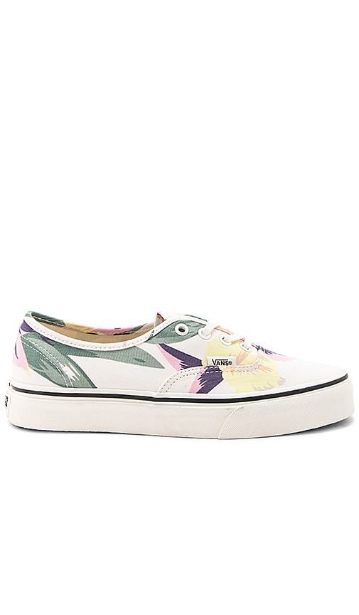 8856163d405ed1 Vans Vintage Floral Authentic Sneaker in Marshmallow