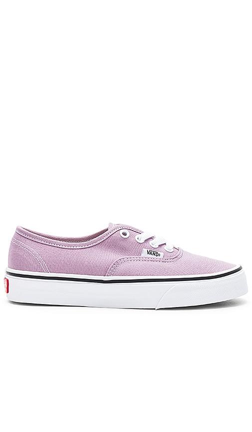Vans Authentic Sneaker in Lavender