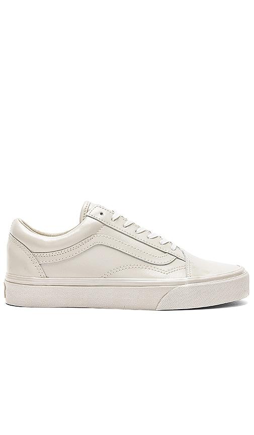 Vans Metallic Sidewall Old Skool Sneaker in Gray