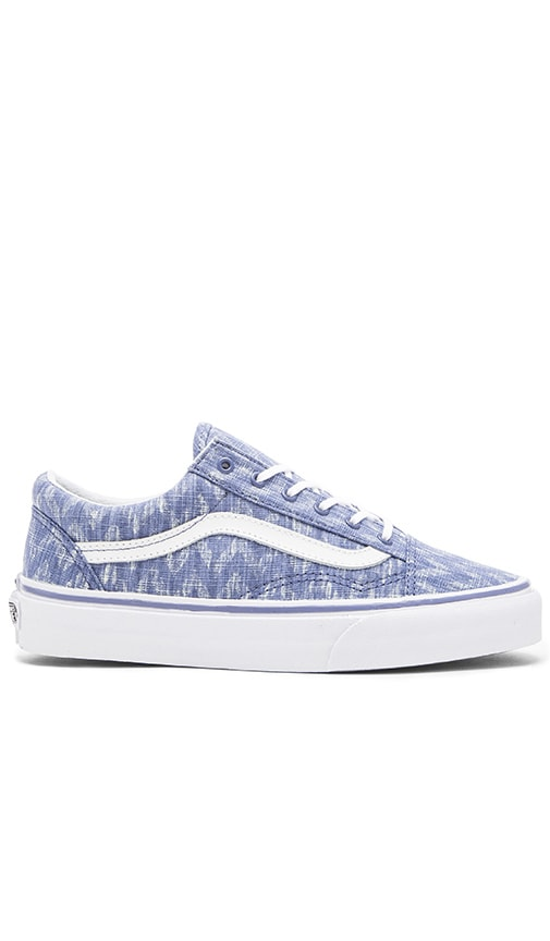 Old Skool Denim Chevron Sneaker