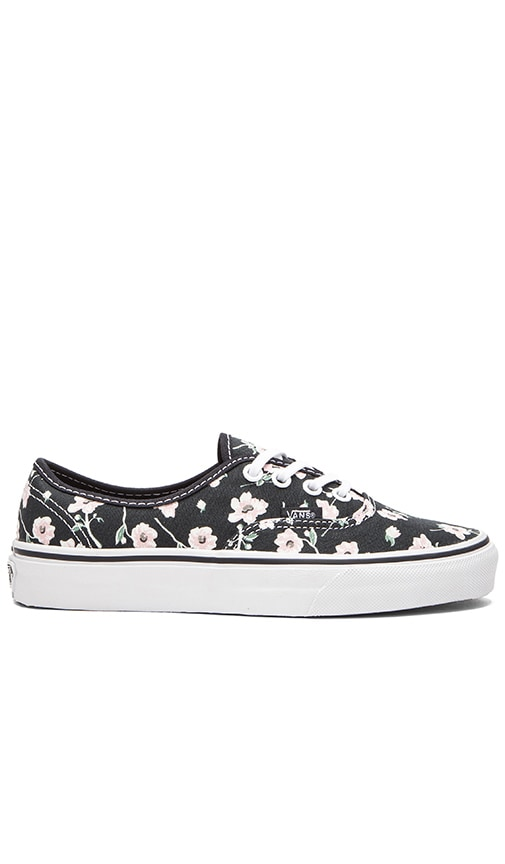 c89ef07f8486c8 Vans Authentic Vintage Floral Sneaker in Blue Graphite