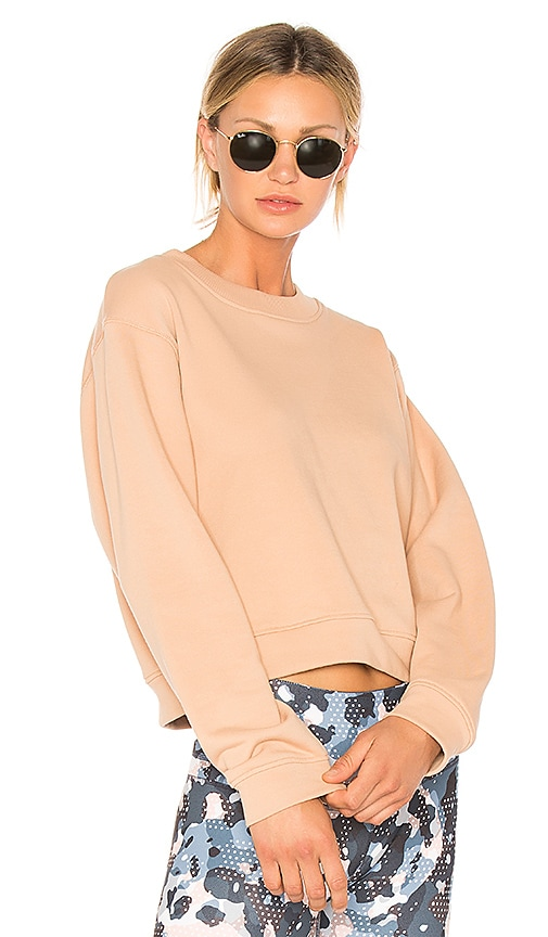Varley Albata Sweatshirt in Peach