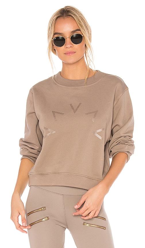 Varley Albata Sweatshirt in Taupe