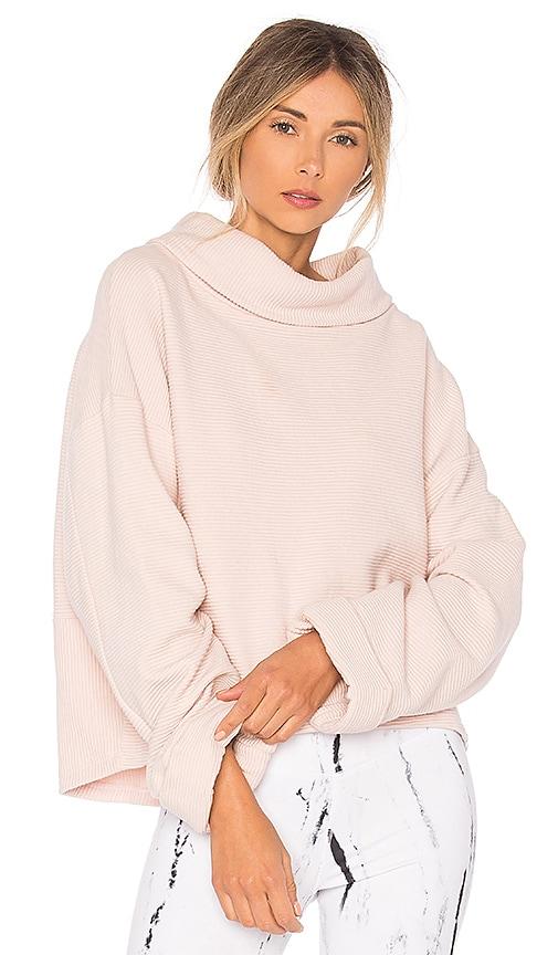 Varley Whittier Sweatshirt in Rose