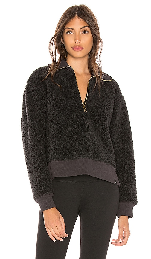 Varley Daphne Sweatshirt in Black