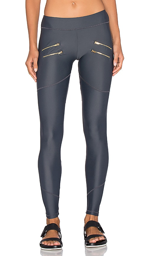 Varley Sofia Tight Legging in Cement