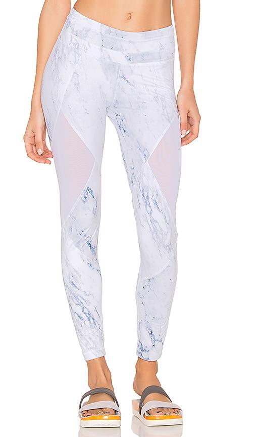 Varley Walnut Leggings in White