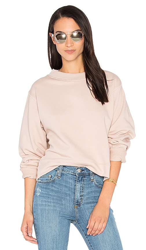 Varley Albata Sweatshirt in Blush